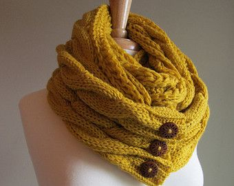 Knitting Loop Scarf : Ready to ship the perfect scarf ™ infinity free