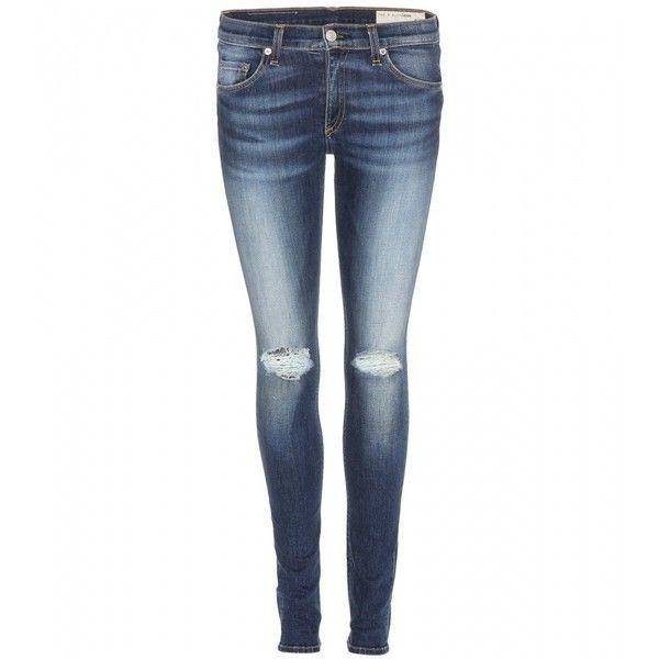 Rag & Bone Skinny Jeans found on Polyvore