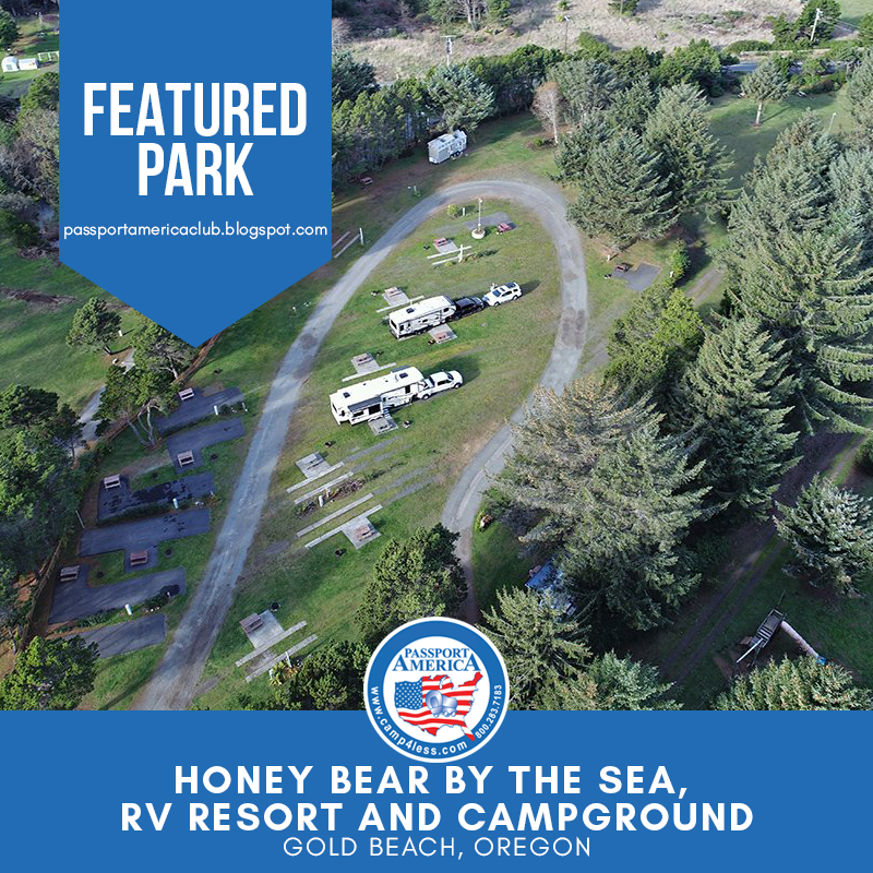 For A Truly Unique Camping Or Rv Experience Visit Honey Bear By The Sea In Gold Beach Or A Magical Resort Overlo Gold Beach Gold Beach Oregon Oregon Travel