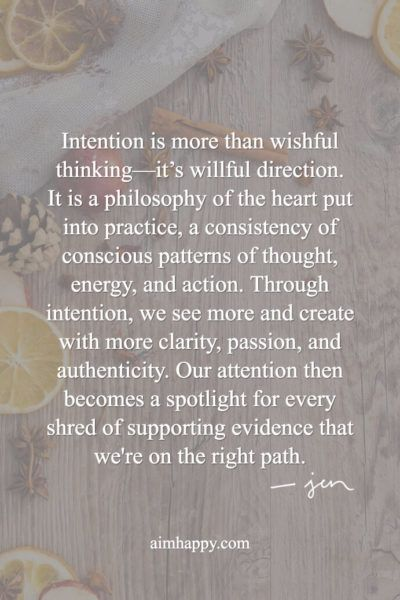 30 Intention Quotes to Ring in the New Year with a Full ...
