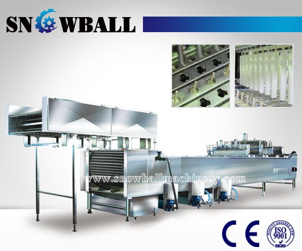 Linear Stick Ice Cream Machine, Ice Lolly Making Machine, Industrial Popsicle Machine