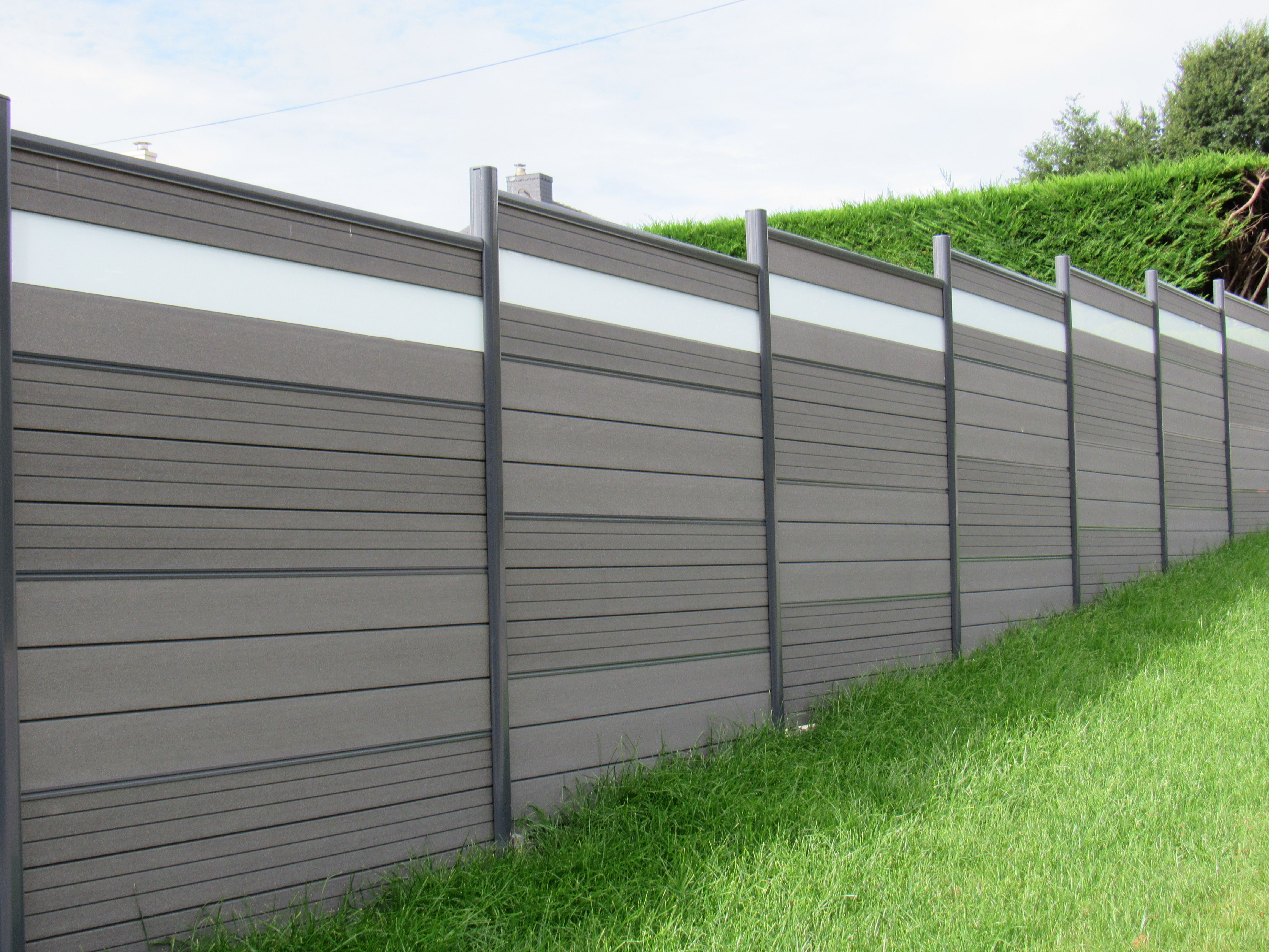 plastic wood fence panel sale in Carlo Ireland