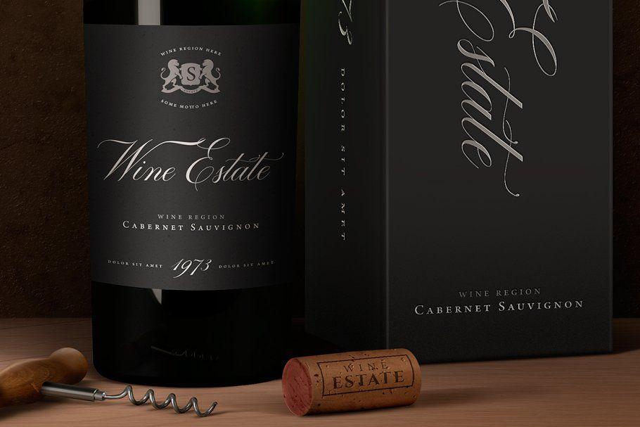 Download Wine Packaging Mock Up