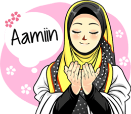 New Funny Emoji  Hijab Raihana – LINE stickers | LINE STORE 10