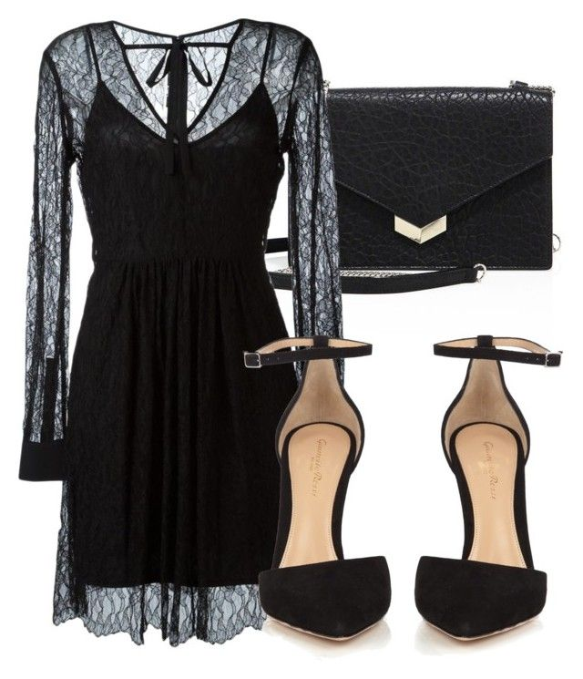 """Untitled #3631"" by beatrizvilar ❤ liked on Polyvore featuring Jimmy Choo, McQ by Alexander McQueen and Gianvito Rossi"