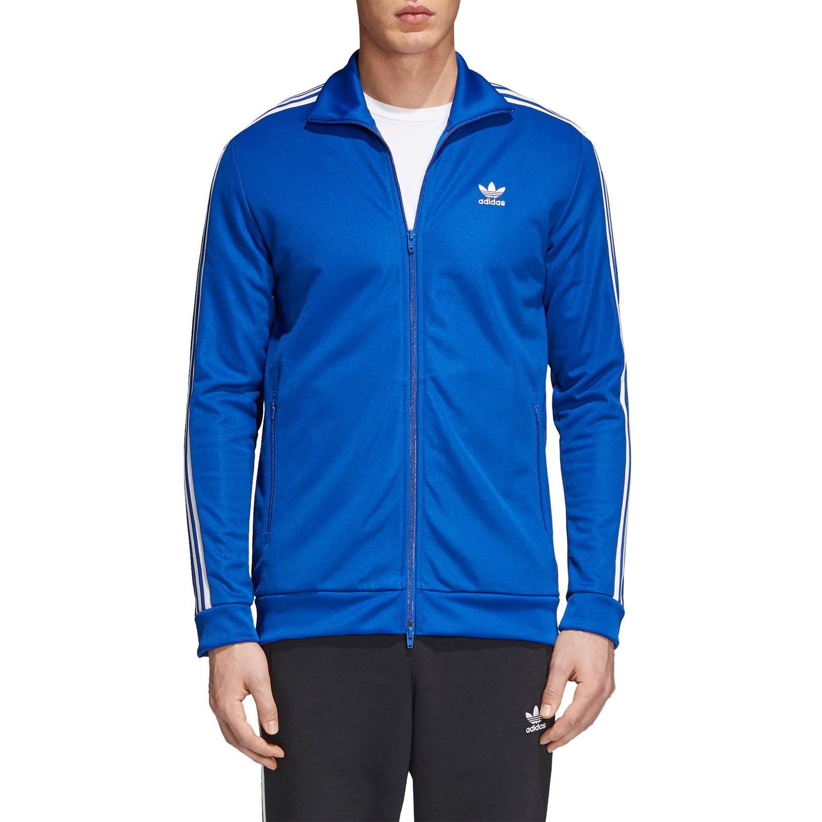 Adidas Originals Beckenbauer Veste de survêtement bleu pas