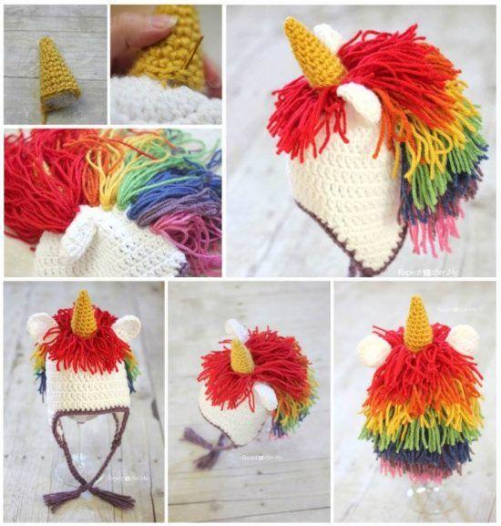 My Little Pony Hat Crochet Pattern Lots Of Cute Ideas | Comic con