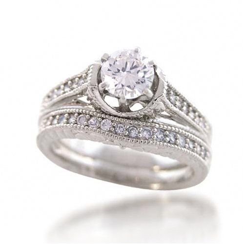 Vintage Wedding Rings Wedding Ring Sets Vintage Vintage Engagement Wedding Rings Vintage Style Engagement Rings
