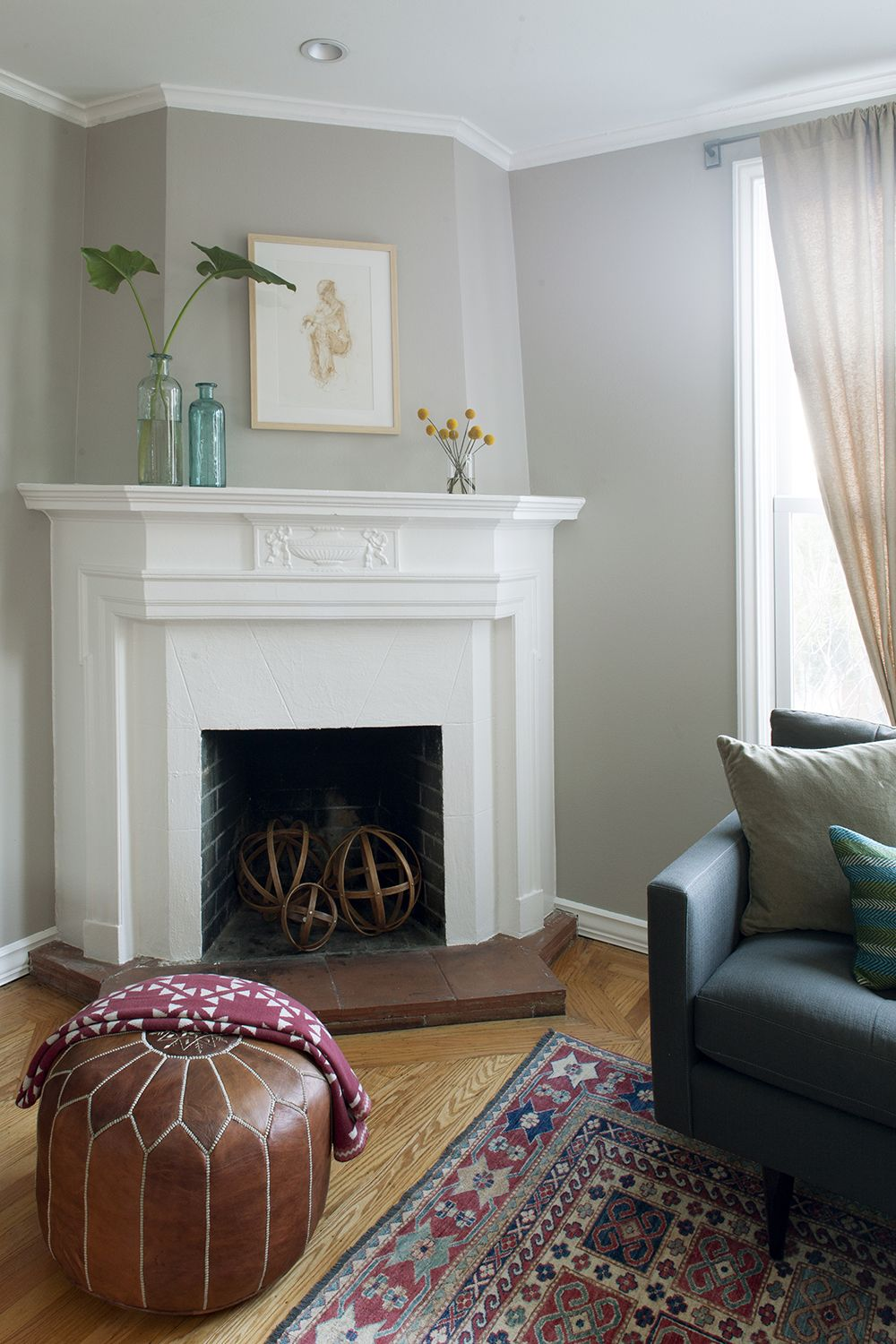 benjamin moore shale with images eclectic living room on benjamin moore paint by room id=44948