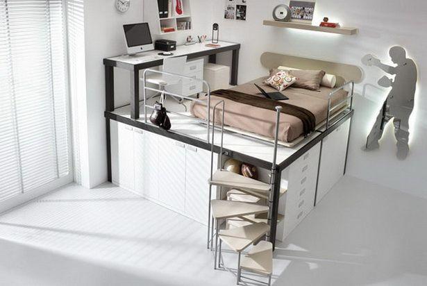 Jugendzimmer platzsparend Traum Wohnungen Pinterest