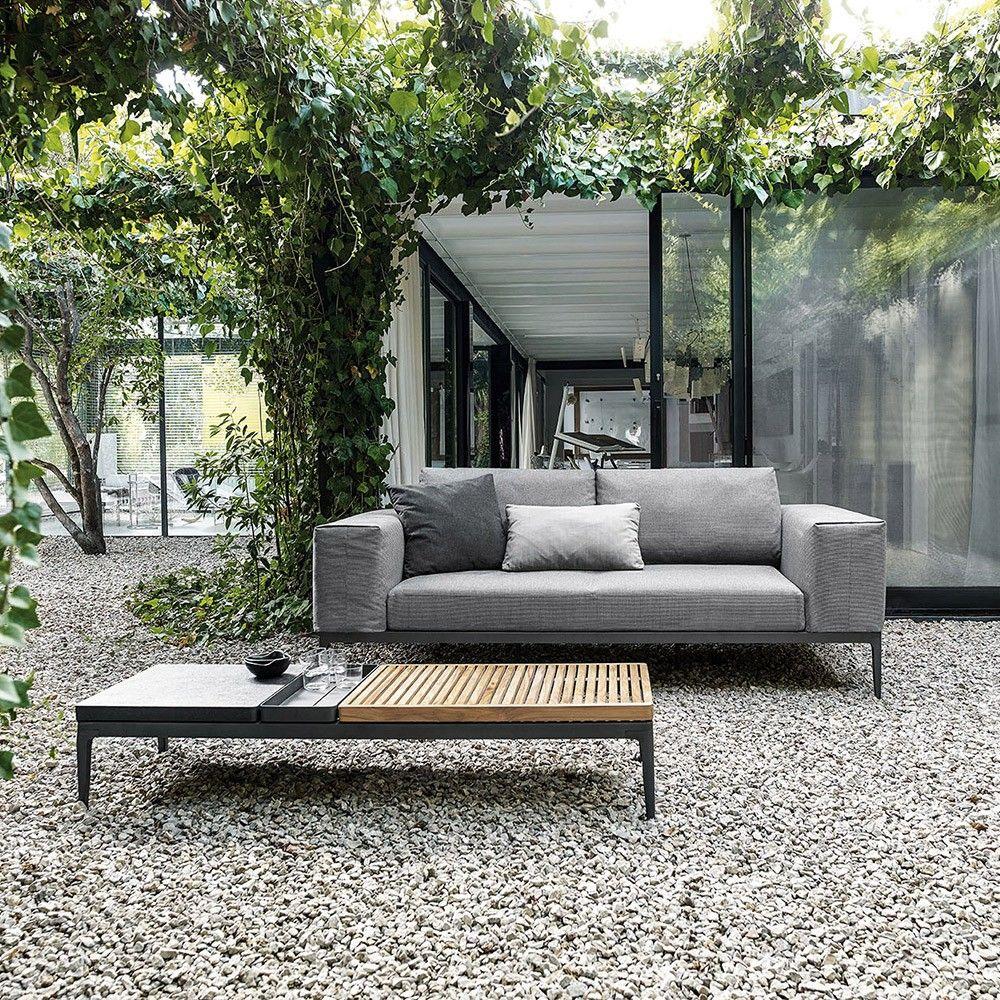 Delightful Gloster Grid Coffee Table   Meteor. Outdoor CouchOutdoor LoungeOutdoor ...