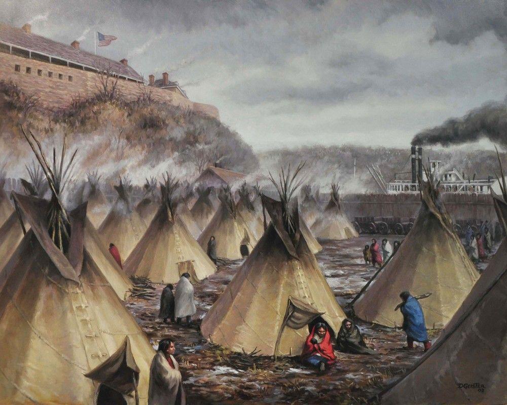 Image result for Us dakota conflict 1862