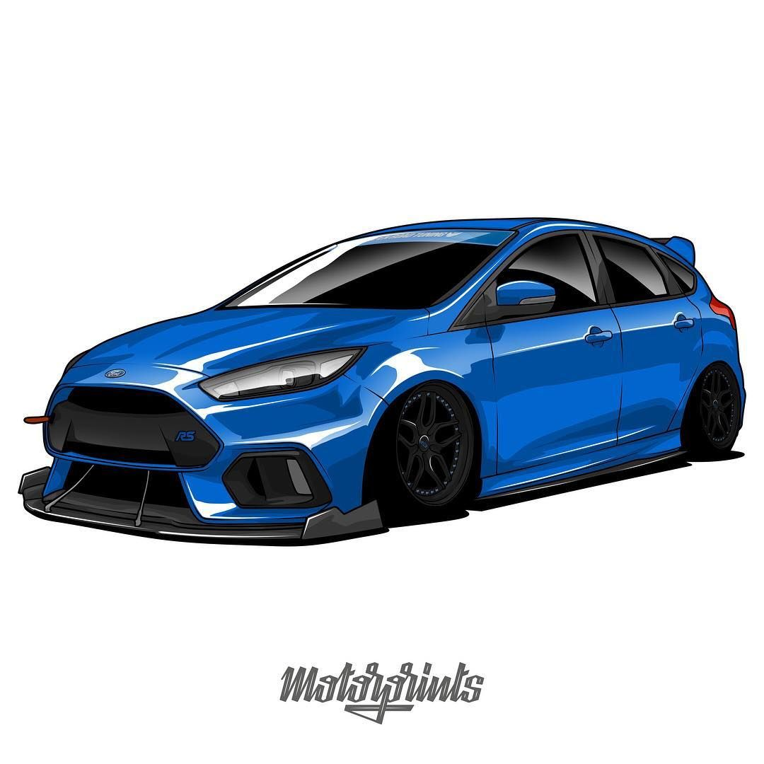 Motorprints On Instagram Ford Focus Rs Bagged Owner