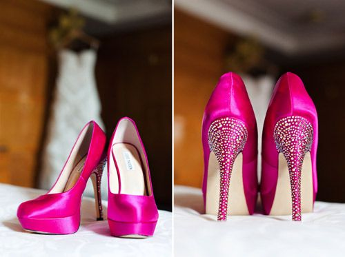 fuchsia wedding shoes best 25 pink wedding shoes ideas on blush 4399