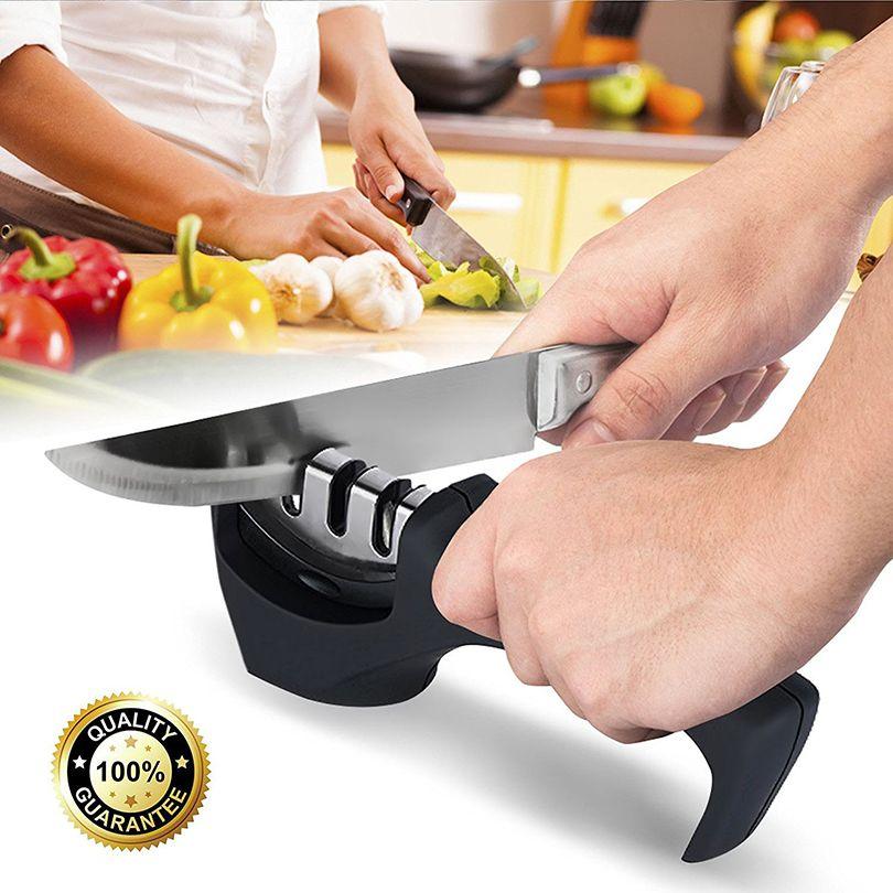 Fantastic Kitchen Knife Sharpeners For Straight And Serrated Fair Kitchen Knife Sharpening 2018