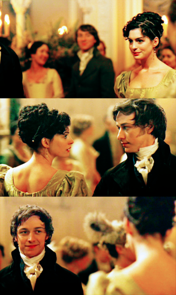 Becoming Jane - still takes my breath away, and makes me want to cry