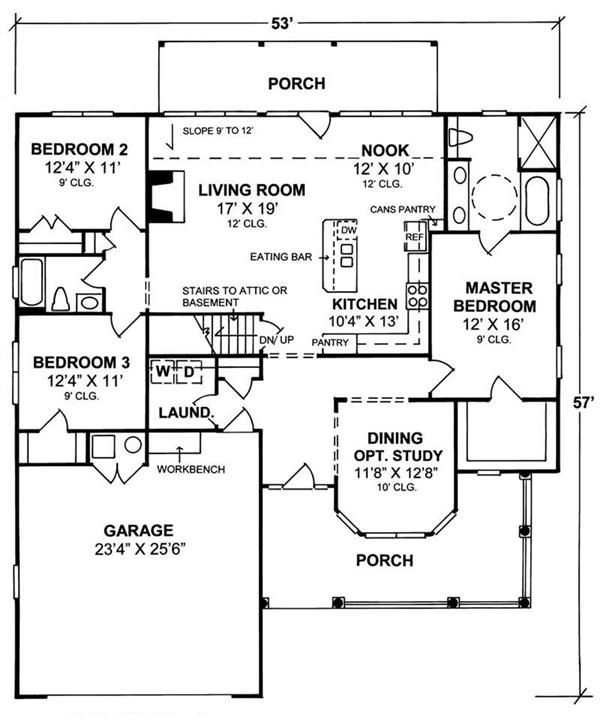 Wheelchair house plans home design and style for Small wheelchair accessible house plans