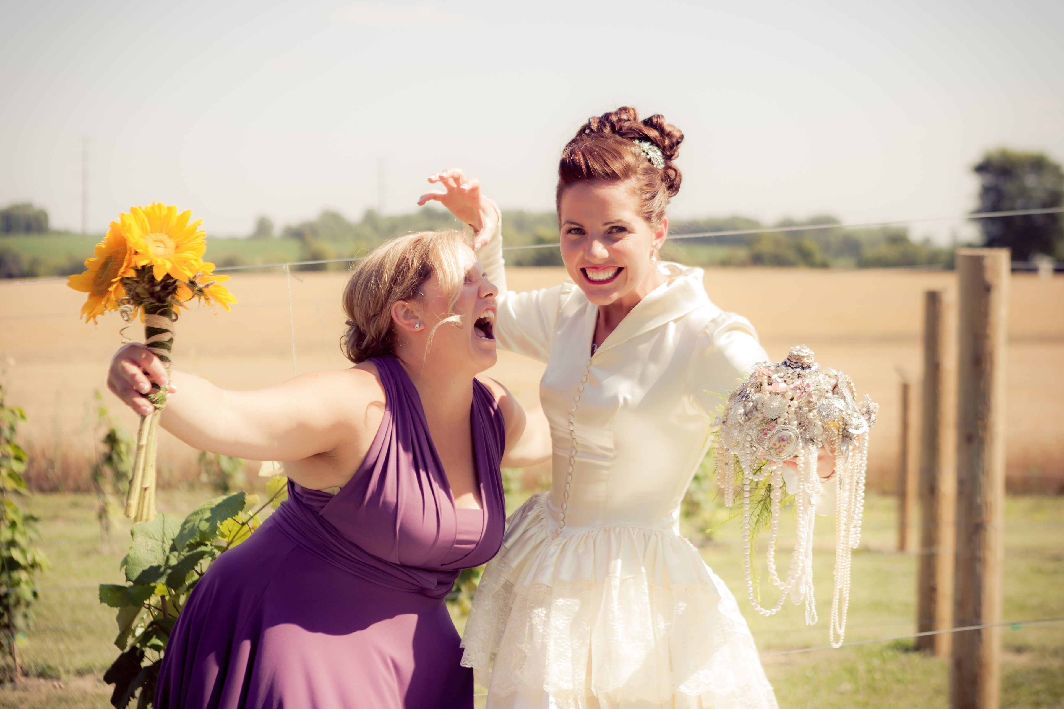 Silly bridesmaid picture vintage wine barn and vineyard wedding silly bridesmaid picture ombrellifo Choice Image