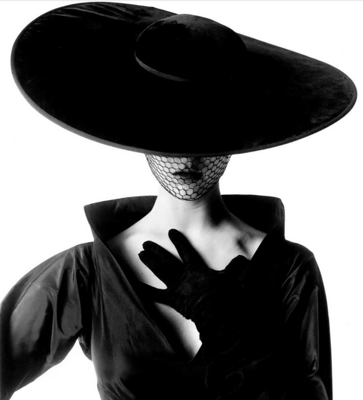 Vintage Black And White Fashion Photography
