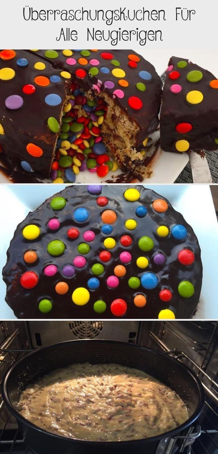Photo of Überraschungskuchen, Überraschungskuchen, Schokoladenkuchen, Kuchen, aus dem w…