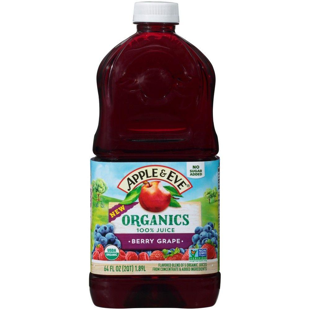 Apple & Eve 100 Juice Berry Grape 64 fl oz Bottle