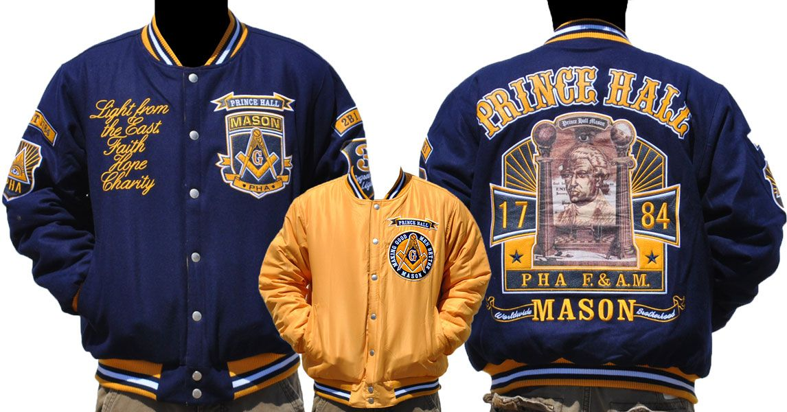 Prince Hall Reversible Wool Jacket | Fraternal | Jackets