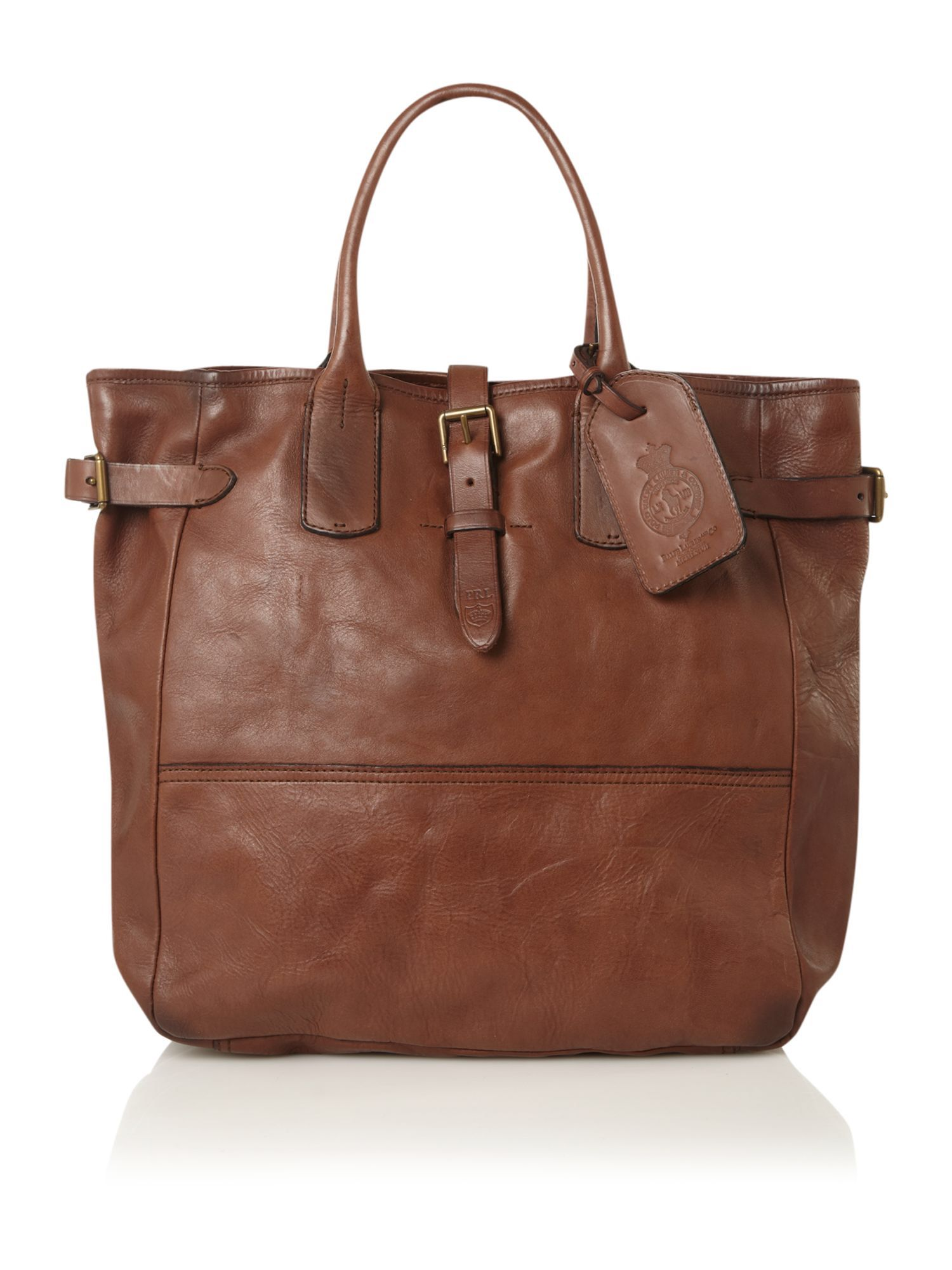 polo ralph lauren brown leather tote bag   Men bags   Pinterest ... 645ae33868