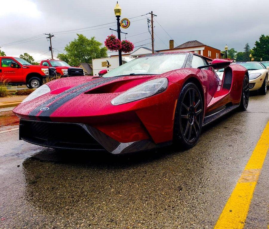 Liquid Red Ford Gt [OC] : Carporn
