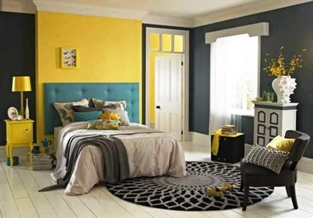 10 Beautiful Bedrooms With Unusual Color Schemes Bedroom Color