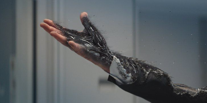 Pin for Later: Emilia Clarke Looks Like a Total Badass in the Terminator Genisys Pictures  And Jason Clarke's creepy hand that isn't a real hand.