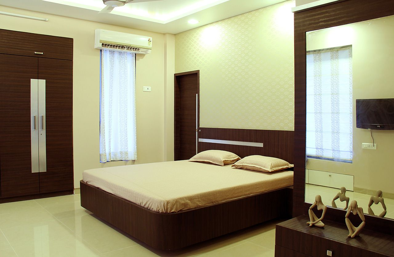 Master Bedroom Bedroom Bed Design Apartment Interior Kerala