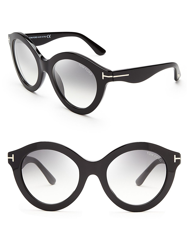 382fb5a484af Tom Ford Chiara Round Oversized Sunglasses