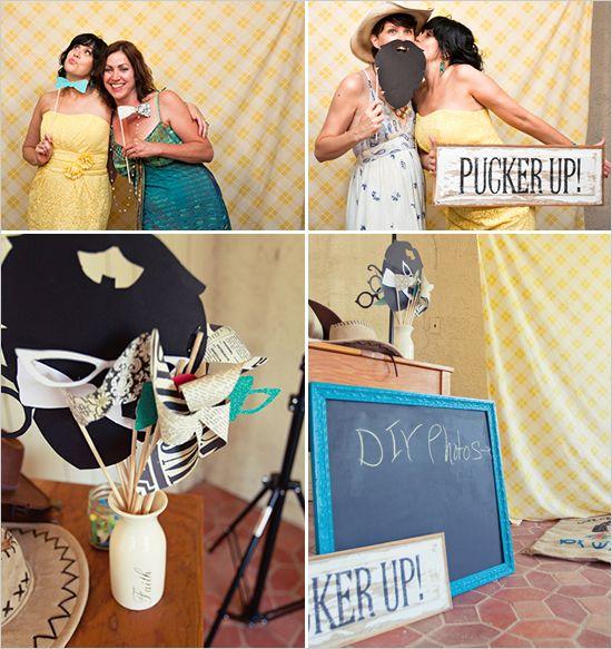 photobooth. DIY photos