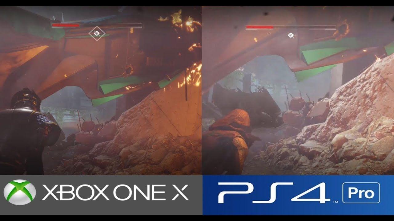 Destiny 2 Ps4 Pro Vs Xbox One X Graphics Comparison Xboxone Ps4 Games Videogames Gaming Ps4 Pro Xbox One Xbox