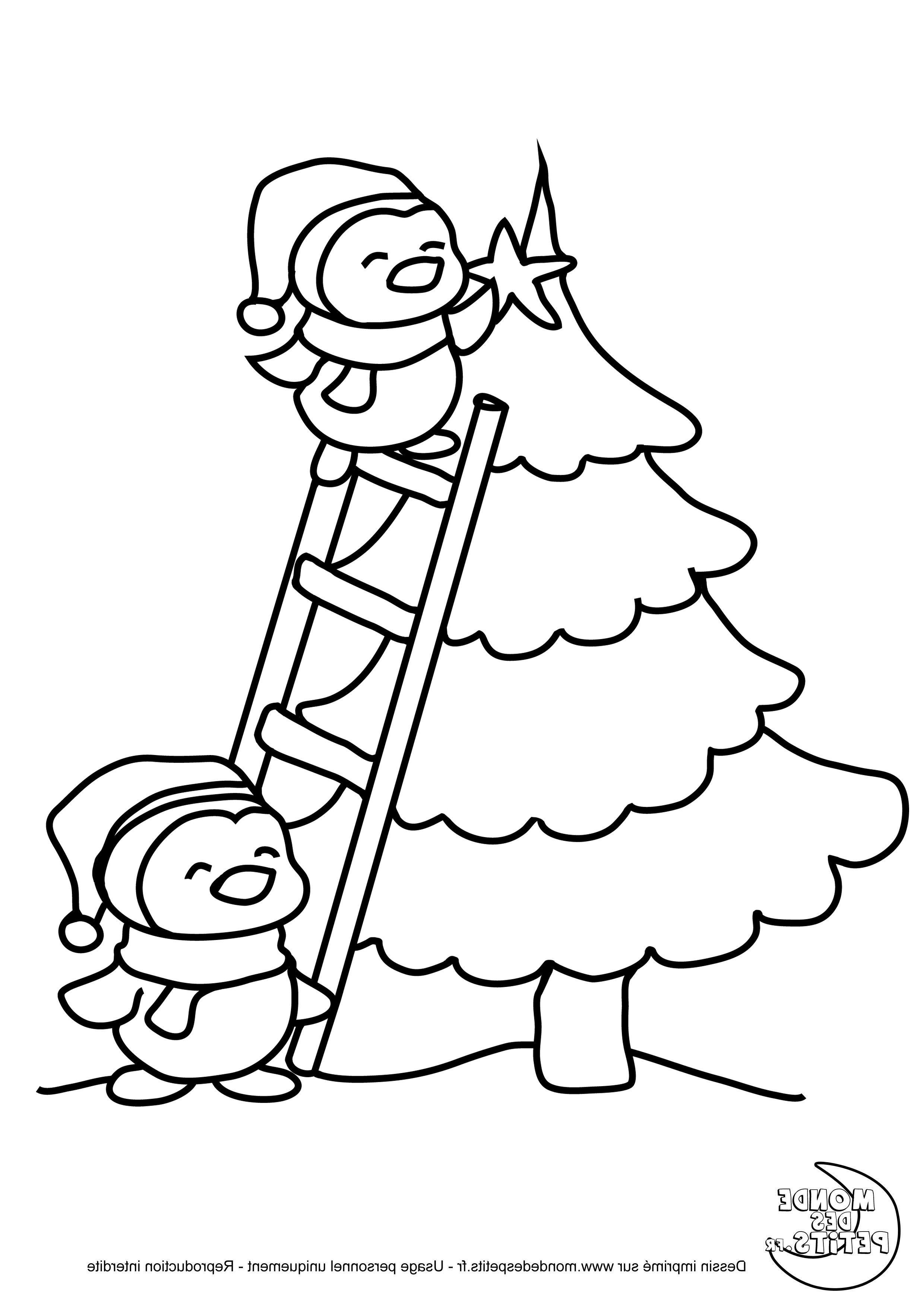 Monde Des Petits Coloriages A Imprimer Coloriage Noel Coloriage Sapin De Noel Dessin De Noel Facile
