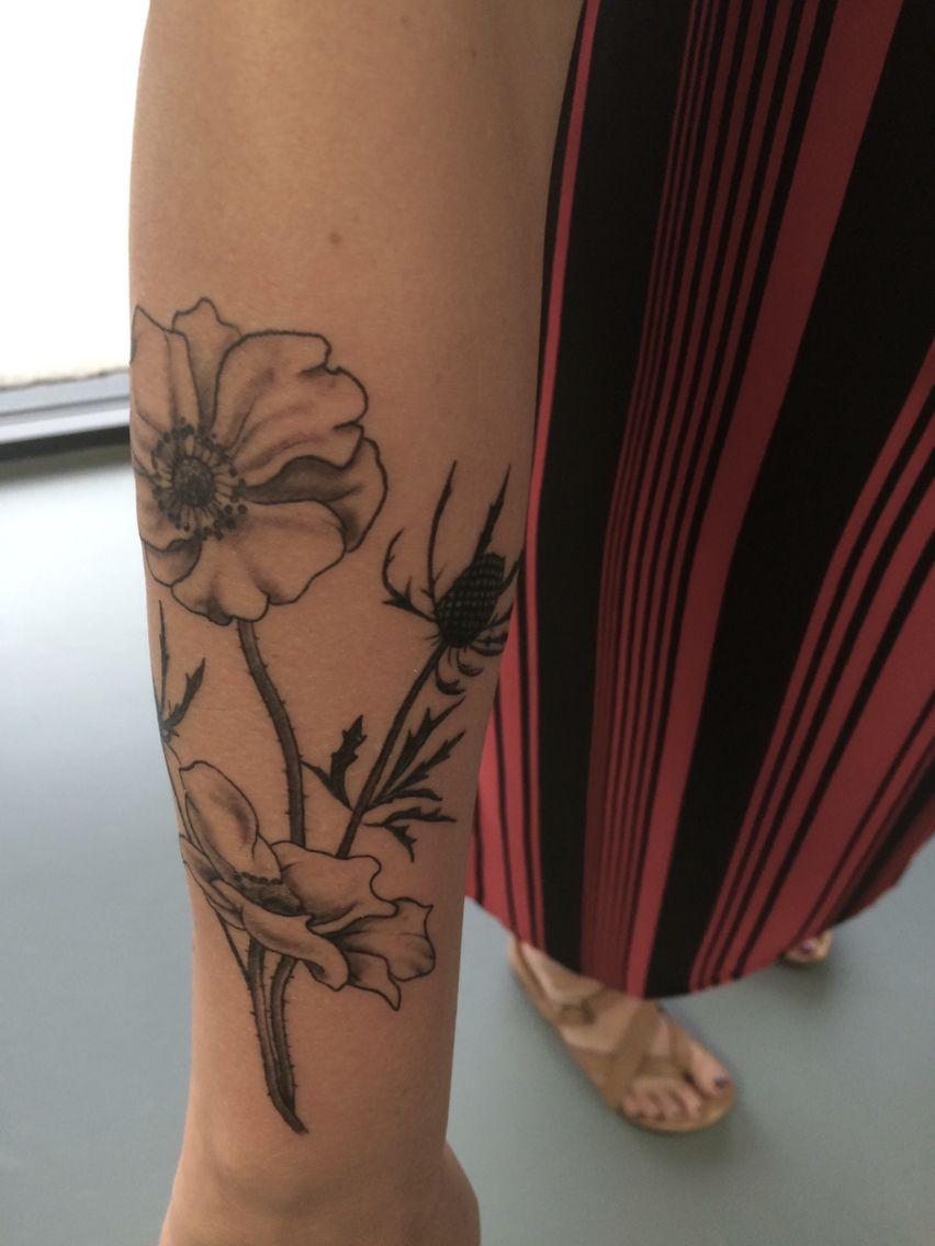 Sea Anemone Tattoo : anemone, tattoo, Holly, Anemone, Flower, Tattoo, Tattoo,, Tattoos,, Tattoos