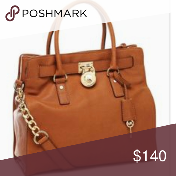 491e5cb4fe55 Bag · Michael Kors bag Used Michael Kors Hamilton Large Leather New With Tags  Lock And Key Luggage