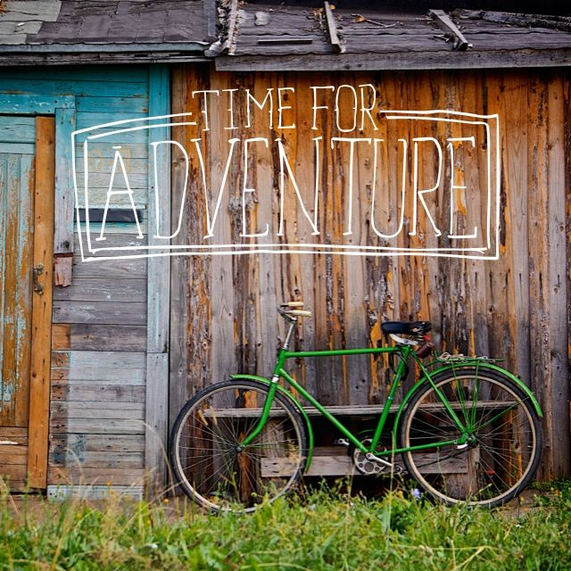 Adventure. Cycling. Photography. Typography