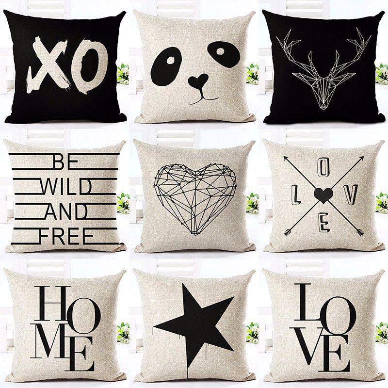 how to use decorative pillows printed cotton linen pillowcase decorative pillows cushion use for how to use throw pillows on a bed printed cotton linen pillowcase