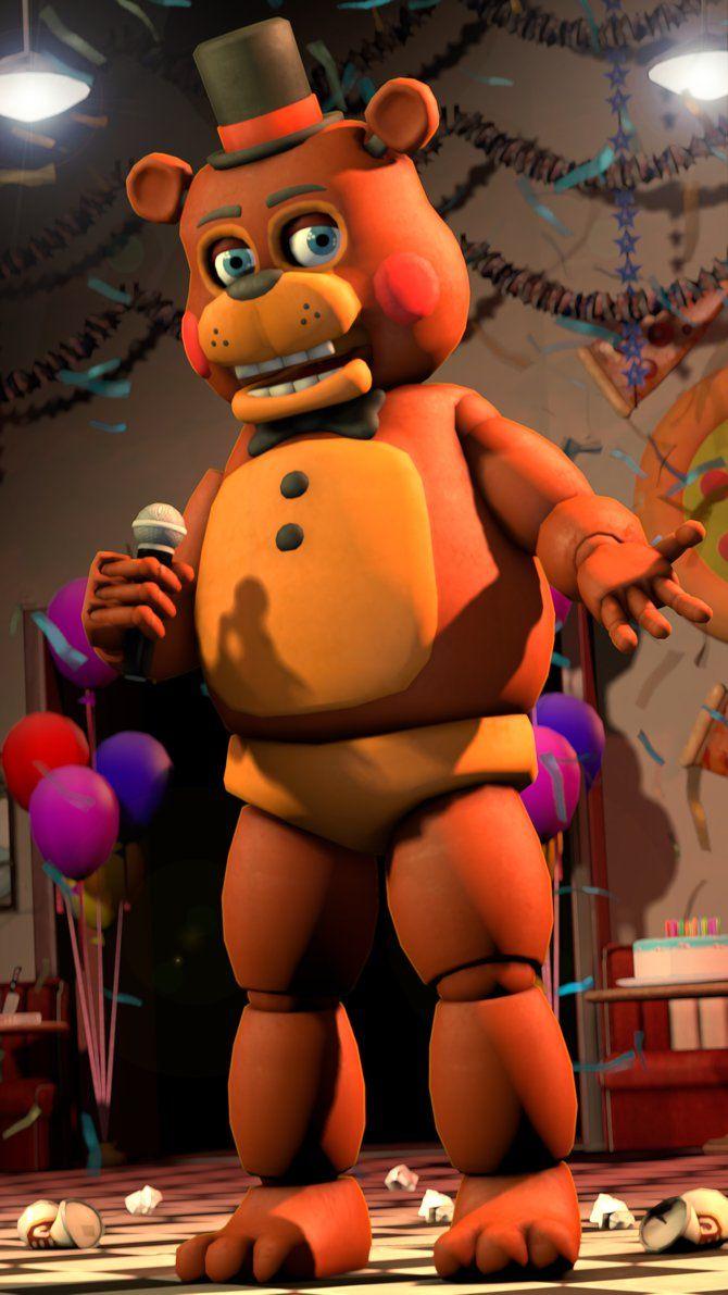 Fnaf 2 Toy Freddy Pin by michaela gonzal...