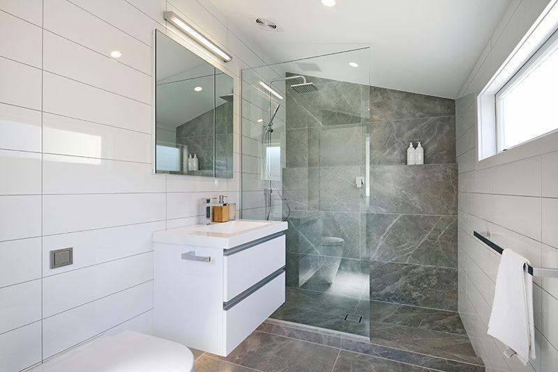 Delicieux Bathroom: Grey Fluery 450 X 900. Designer: John Kaminski   Bathroom Direct  ...