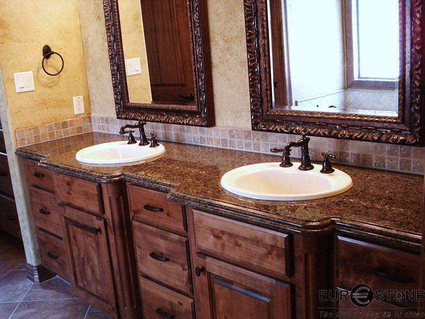 Bàn đá Granite Lavabo Bàn đá Lavabo Pinterest Granite And Marbles - Bathroom countertops san antonio
