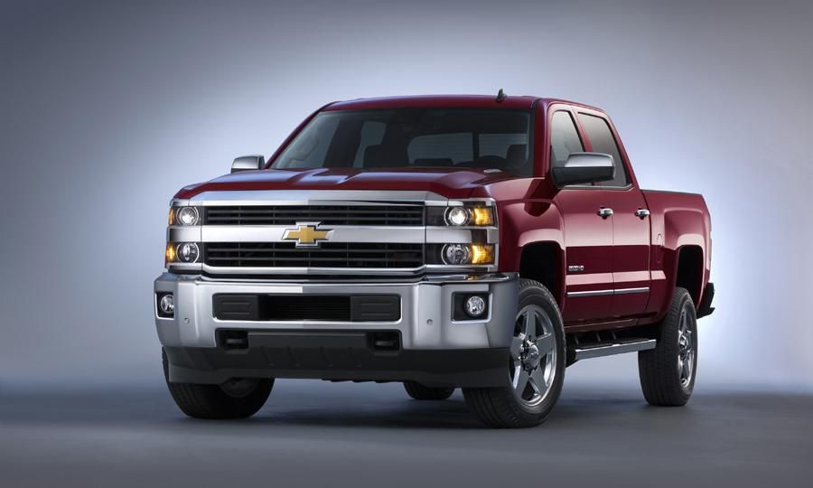 2015 Chevrolet Silverado 2500hd Ltz Crew Cab Review Notes Chevy