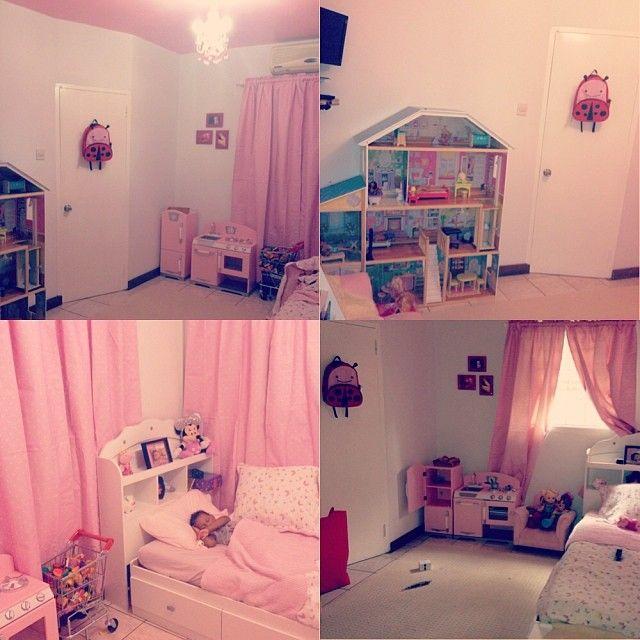 Majestic Dollhouse, Pink Retro Kitchen #playkitchen #dollhouse ...