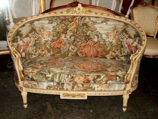 A Guide to Antique Chair IdentificationA Photo Guide to Antique Chair Identification   Settee sofa  . Louis Xvi Style Furniture For Sale. Home Design Ideas