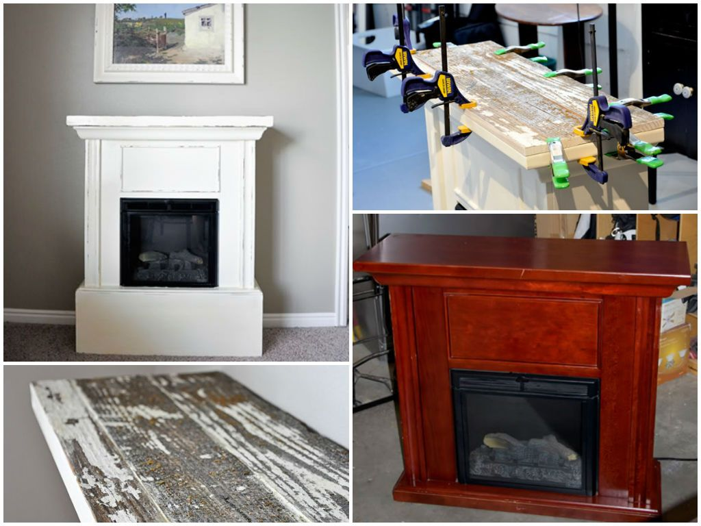 Electric Fireplace Makeover (With images) Fireplace