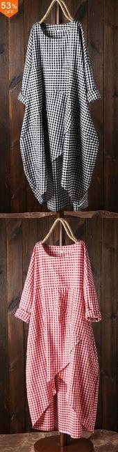 Photo of Irregular Dress with Pockets, #Dress #DressShoes #Irregular #Pockets
