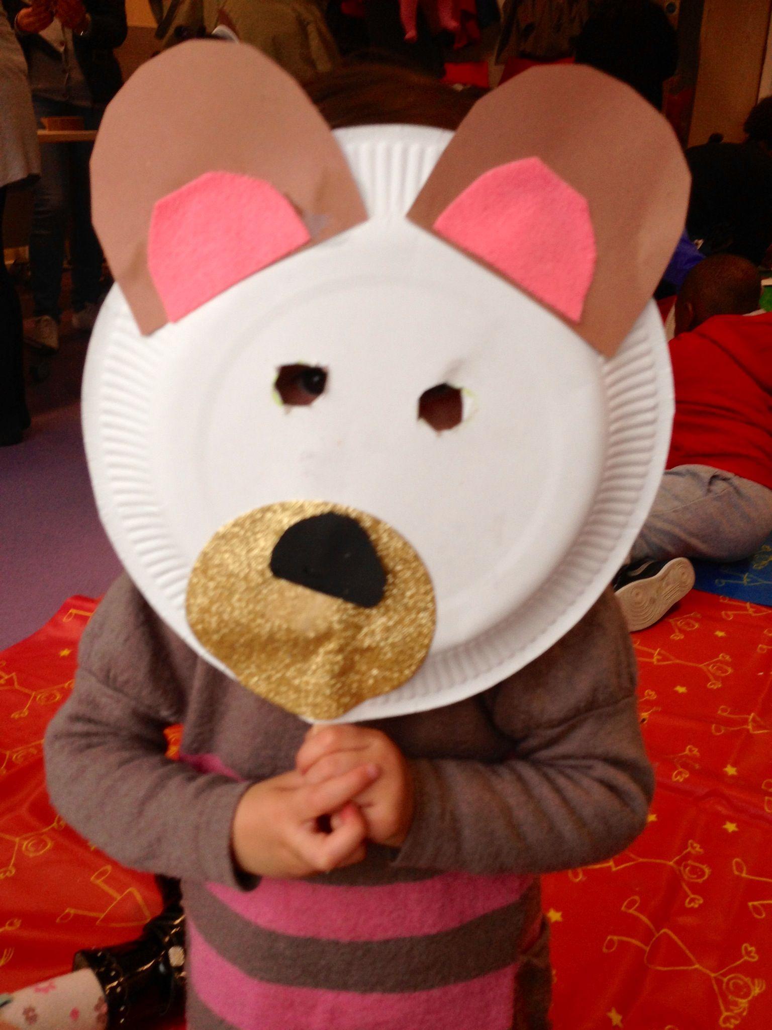 teddy bear preschool draw bear mask very easy to make teddy