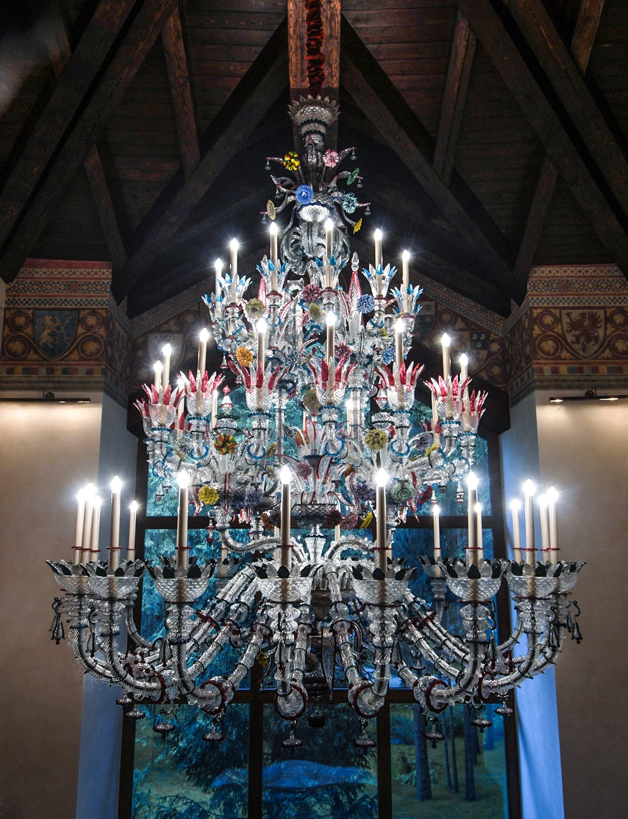 Chandeliers Murano Glass Chandelier Handcrafted In Italy