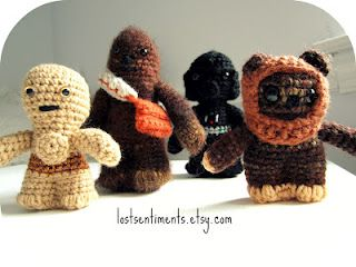 Star Wars Crochet Patterns Lots Of Great Ideas | The WHOot | 240x320